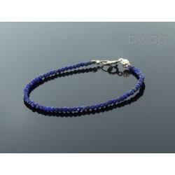 Bransoletka - lapis lazuli 0,2 cm