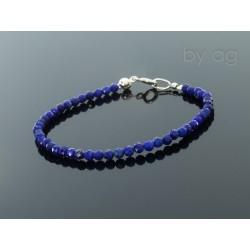 Bransoletka - lapis lazuli 0,3 cm