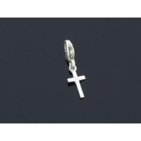 Wisiorek srebrny delikatny krzyżyk