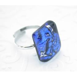 Murano Glass szkło weneckie pierścionek  CARNAVALE PP826